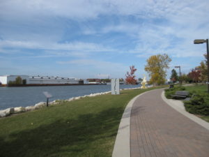 Fox River Trail in Green Bay, Wisconsin