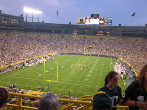 Green Bay Packers Football Stadium