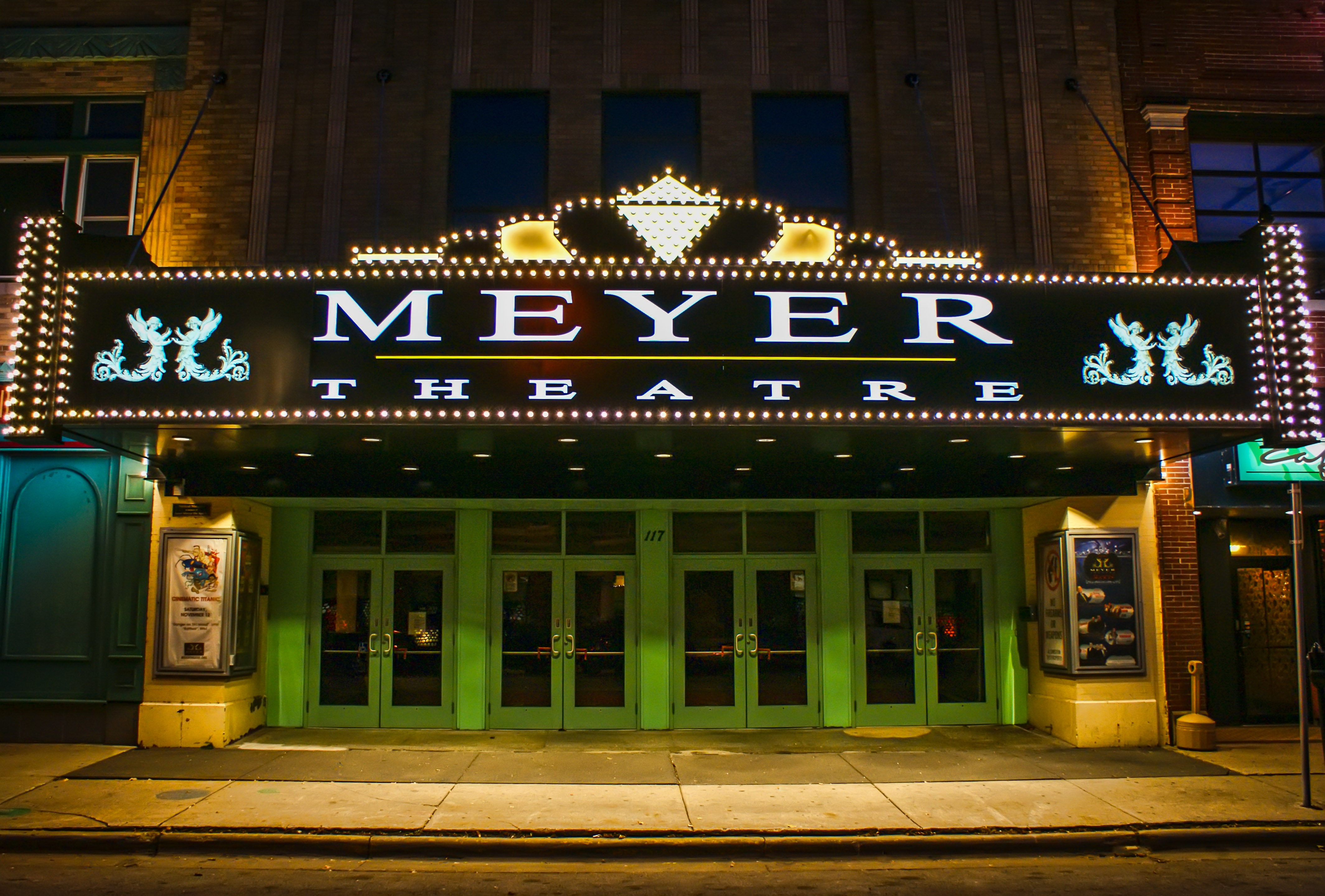 Historic Meyer Theater in Green Bay Wisconsin