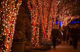 Green Bay downtown is decorated with holiday lights