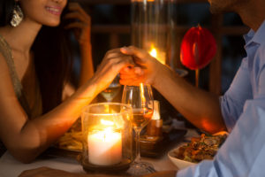 Romantic dining with your Valentine