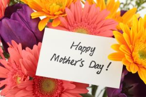 Mother's Day Flowers & Card