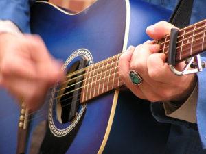Guitar music performance