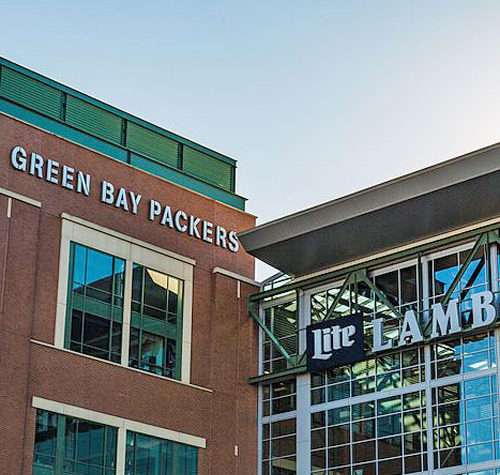Book your room at our Bed and Breakfast for your next Packers Football Game