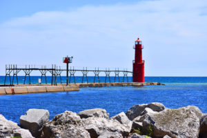 Visit the Accessible Boardwalk and Lighthouse in Algoma, Wisconsin